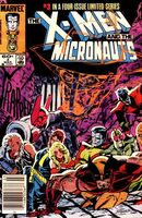 X-Men and the Micronauts Vol 1 3