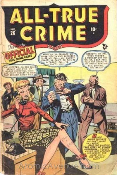 All True Crime Cases Comics Vol 1 26