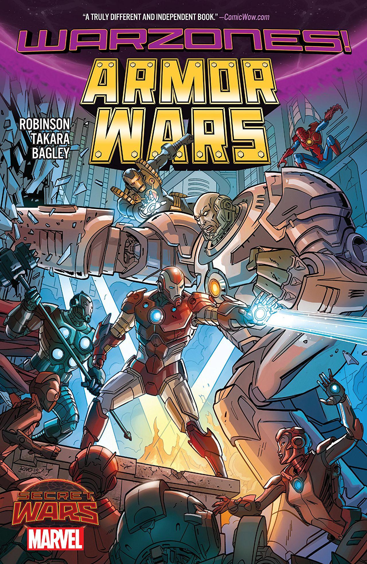 Armor Wars TPB Vol 1 1