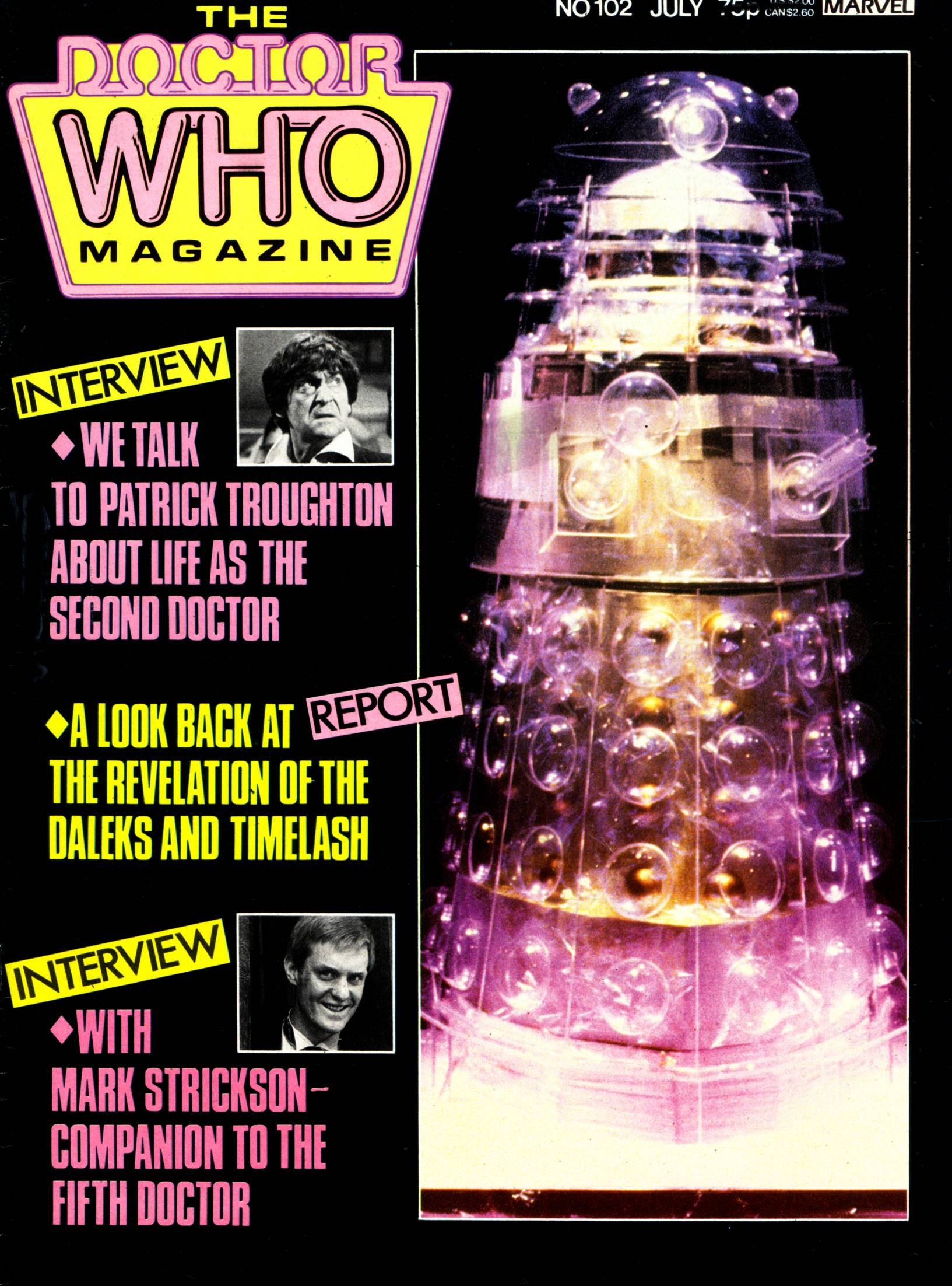 Doctor Who Magazine Vol 1 102