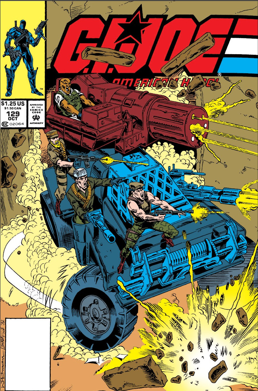 G.I. Joe: A Real American Hero Vol 1 129