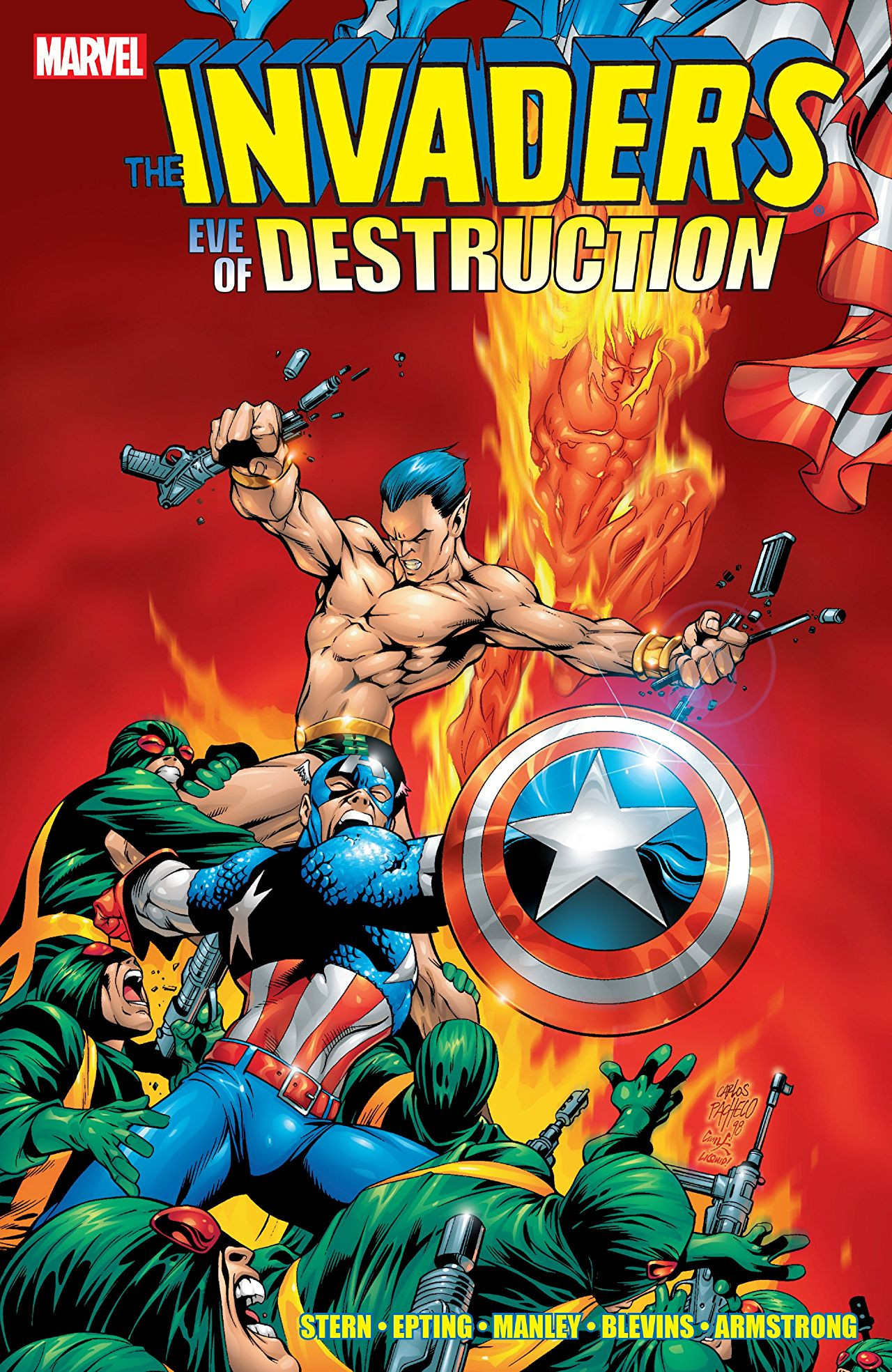 Invaders: Eve of Destruction Vol 1