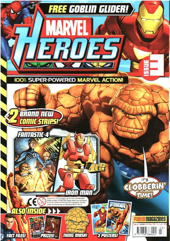 Marvel Heroes (UK) Vol 1 3