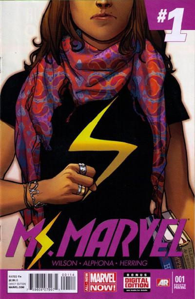 Ms. Marvel Vol 3 1 4th Printing Variant.jpg