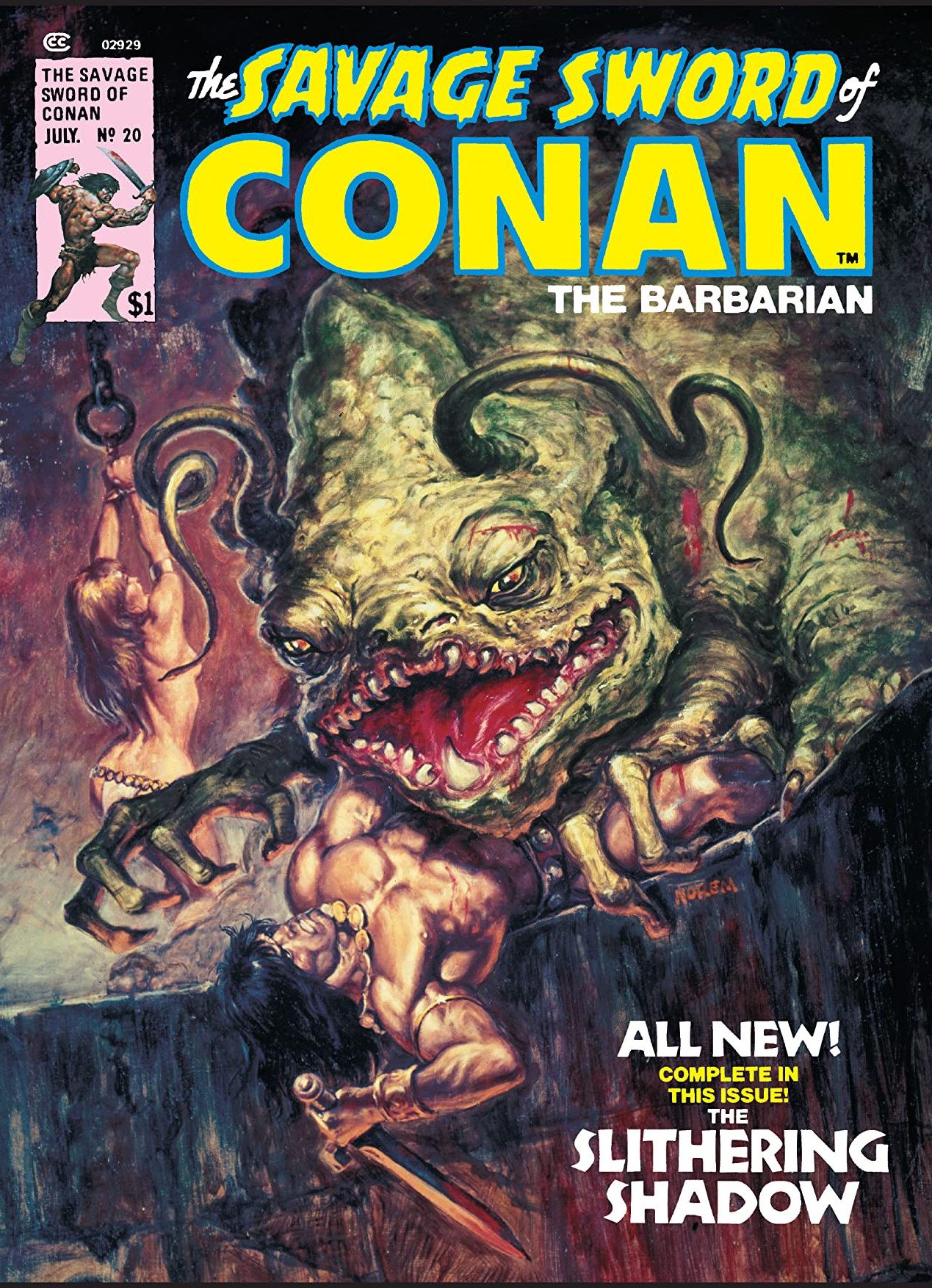 Savage Sword of Conan Vol 1 20