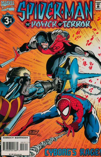 Spider-Man: Power of Terror Vol 1 3