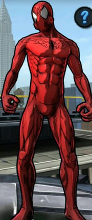 The Spider (Peter Parker) from Spider-Man Unlimited (video game) 001.jpg