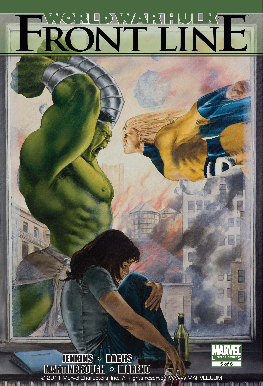 World War Hulk: Front Line Vol 1 5