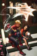 Avengers Vol 8 15 Captain Marvel Variant Textless