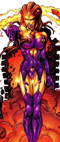 Ayesha (Earth-616) from Fantastic Four Vol 3 11 001.jpg