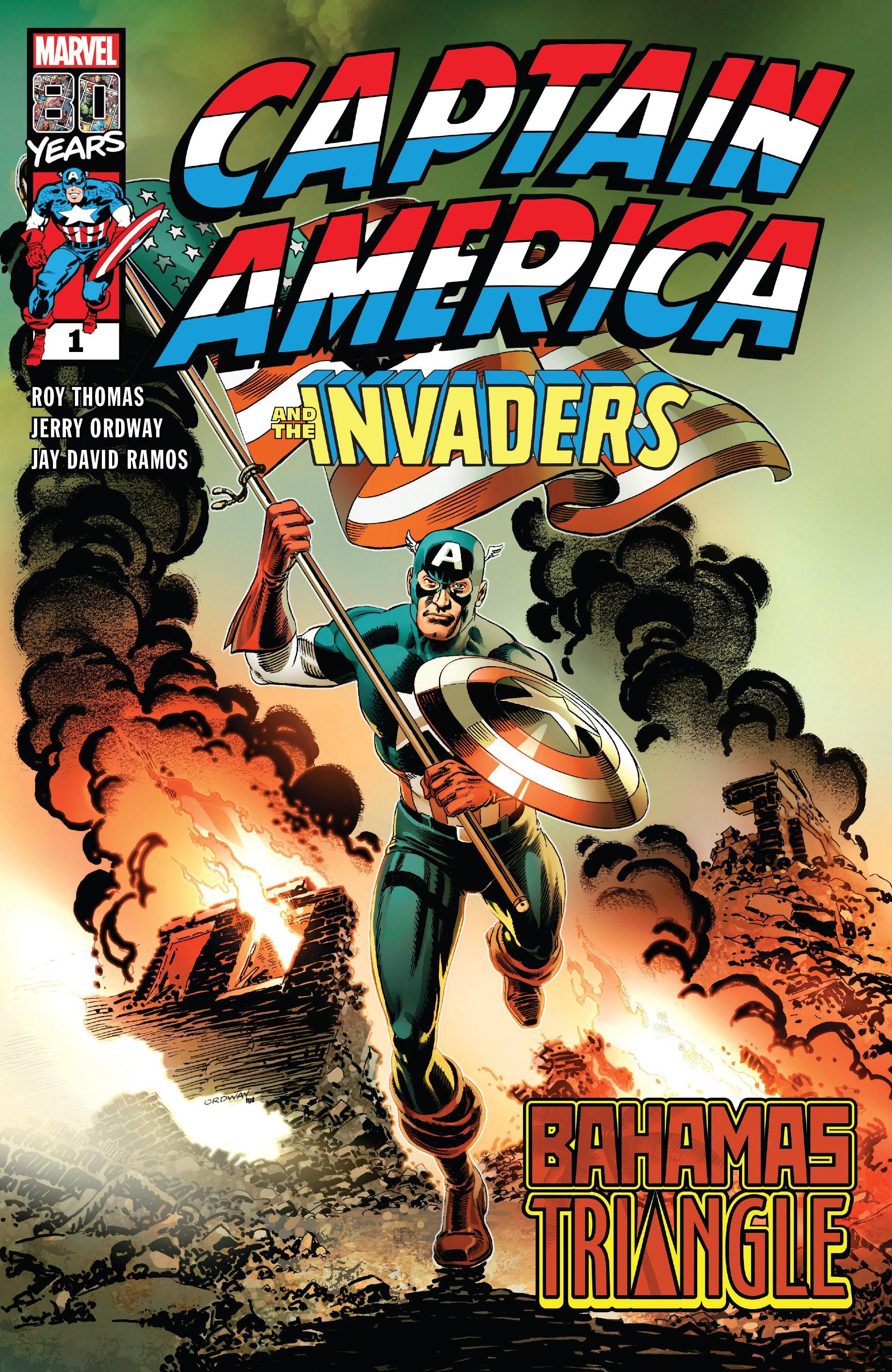 Captain America & the Invaders: Bahamas Triangle Vol 1 1