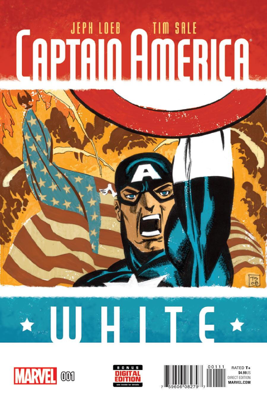 Captain America: White Vol 1 1
