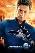 Fantastic Four Rise of the Silver Surfer (film) poster Mr Fantastic 2