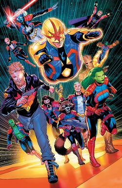 Guardians of the Galaxy (Earth-616) from Guardians of the Galaxy Vol 6 12 002.jpg