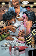 James Howlett (Earth-616) and Angel Salvadore (Earth-616) from New X-Men Vol 1 120 0001