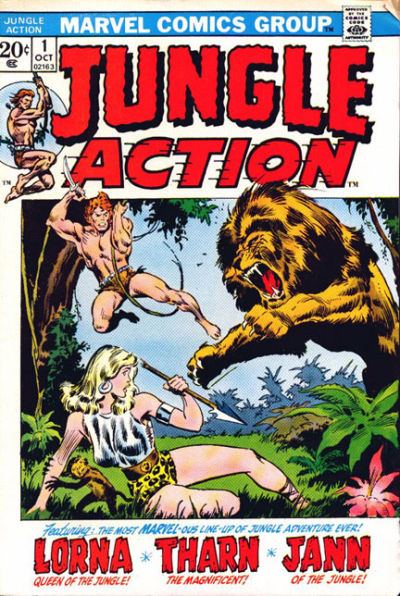 Jungle Action Vol 2 1
