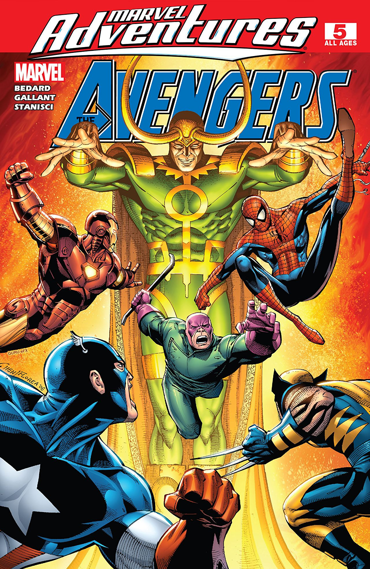 Marvel Adventures: The Avengers Vol 1 5