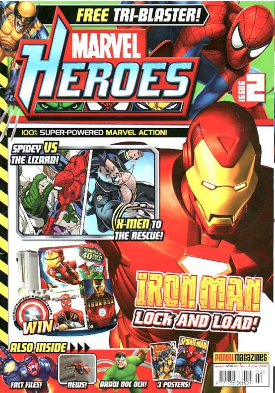 Marvel Heroes (UK) Vol 1 2
