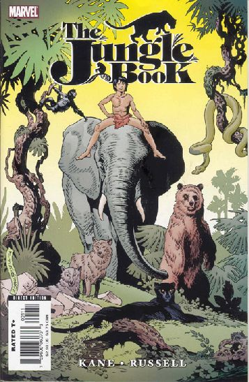 Marvel Illustrated: The Jungle Book Vol 1