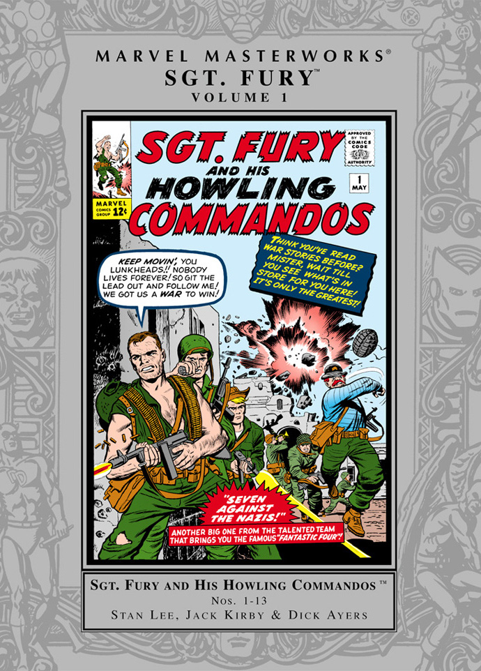 Marvel Masterworks: Sgt. Fury Vol 1 1