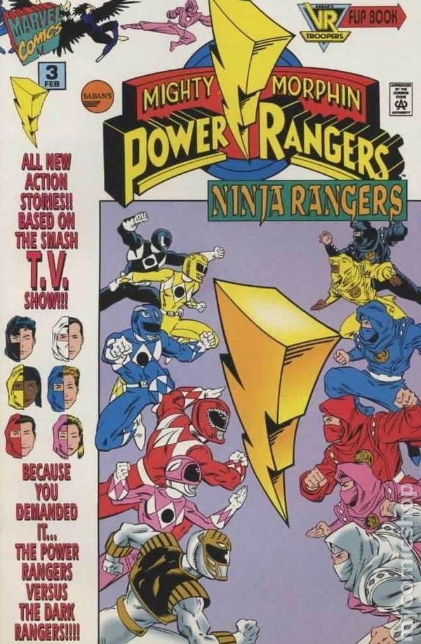 Saban's Mighty Morphin Power Rangers: Ninja Rangers Vol 1 3