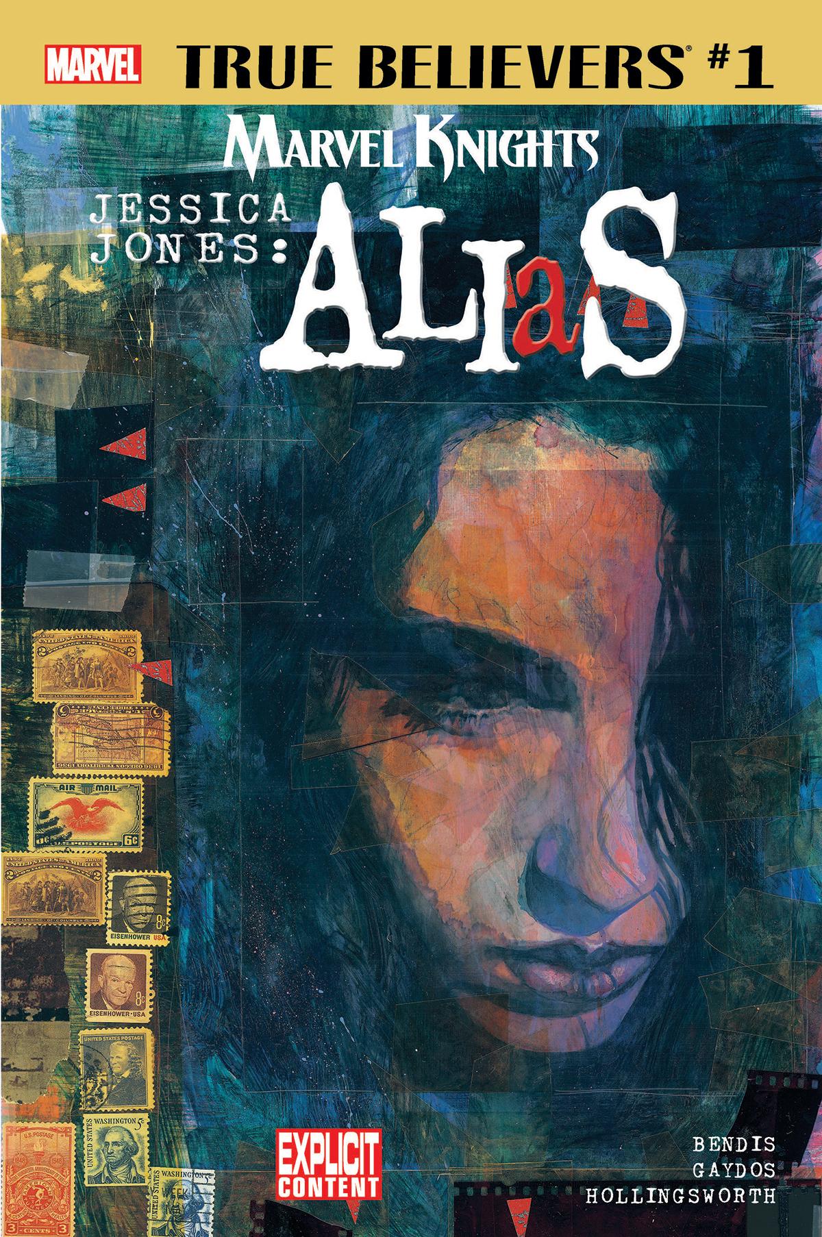 True Believers: Marvel Knights 20th Anniversary - Jessica Jones: Alias by Bendis & Gaydos Vol 1 1