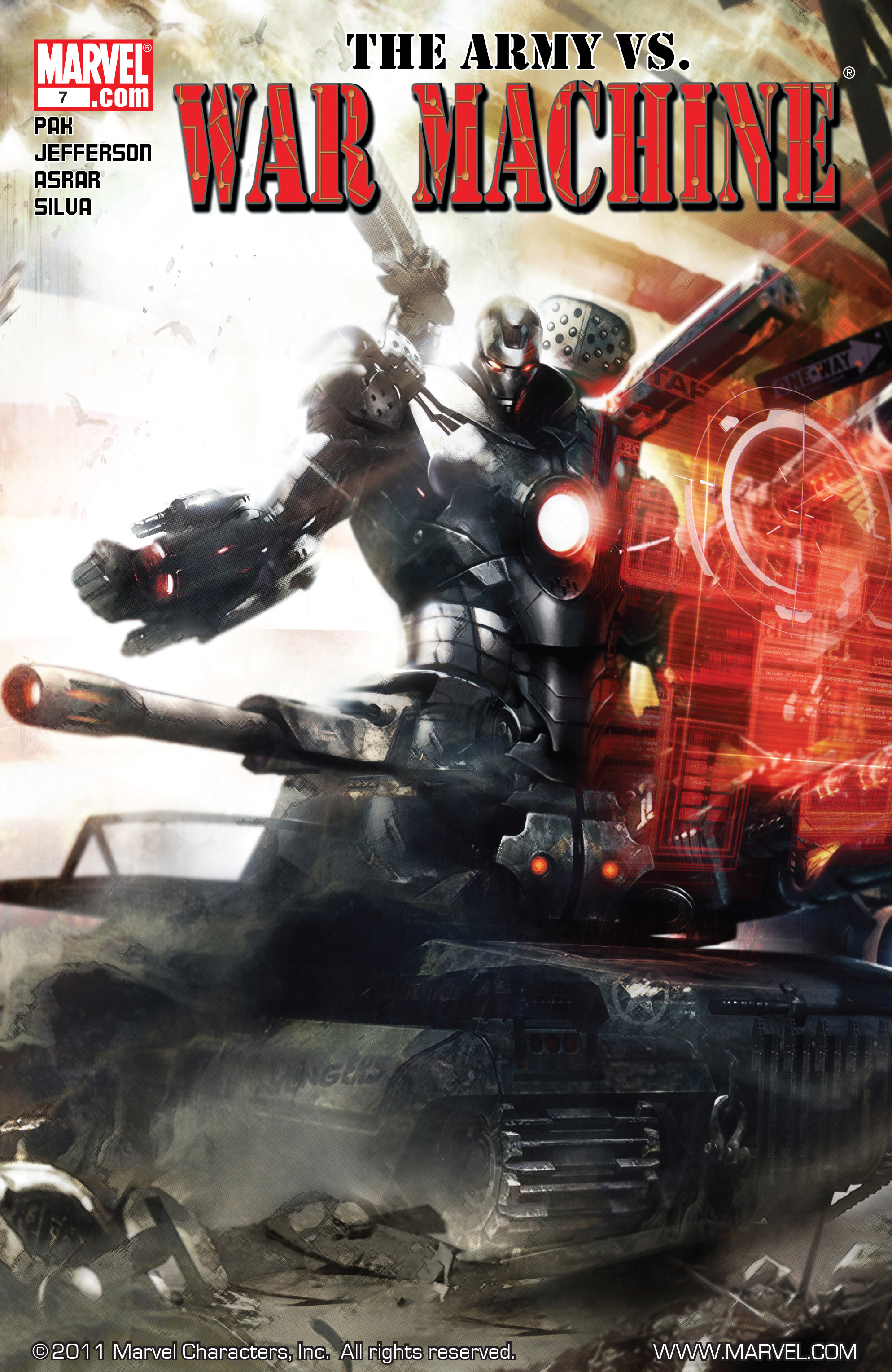 War Machine Vol 2 7