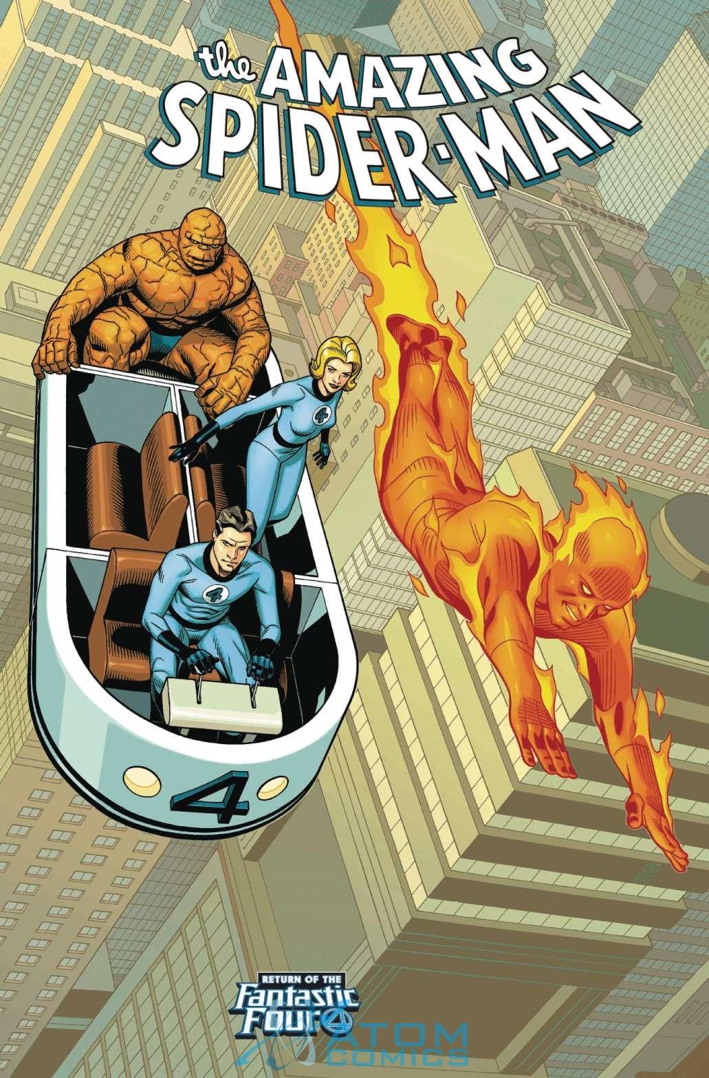 Amazing Spider-Man Vol 5 4 Return of the Fantastic Four Variant.jpg