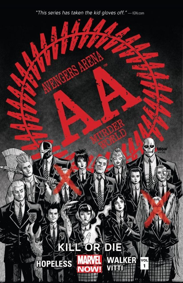 Avengers Arena TPB Vol 1 1: Kill or Die