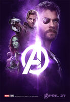 Avengers Infinity War poster 007