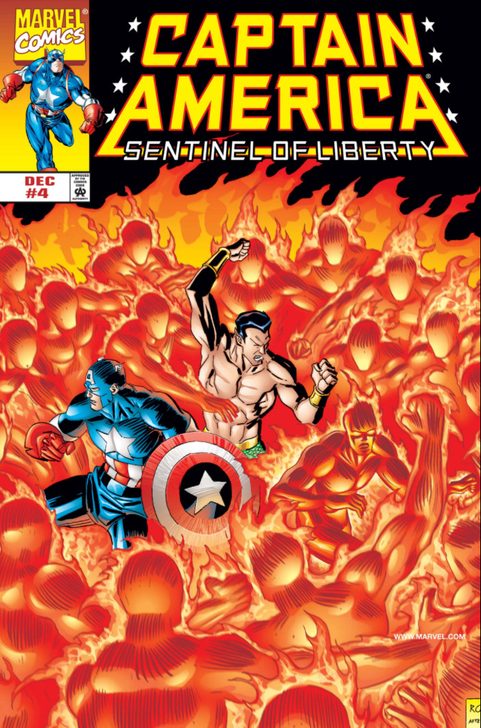Captain America: Sentinel of Liberty Vol 1 4