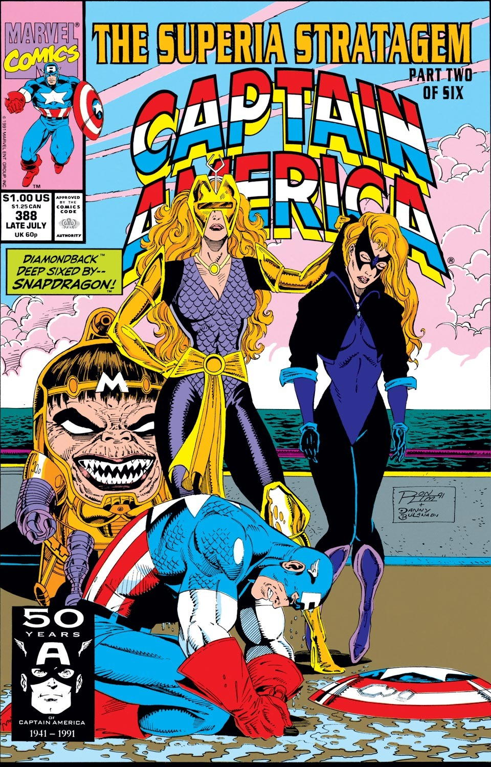 Captain America Vol 1 388