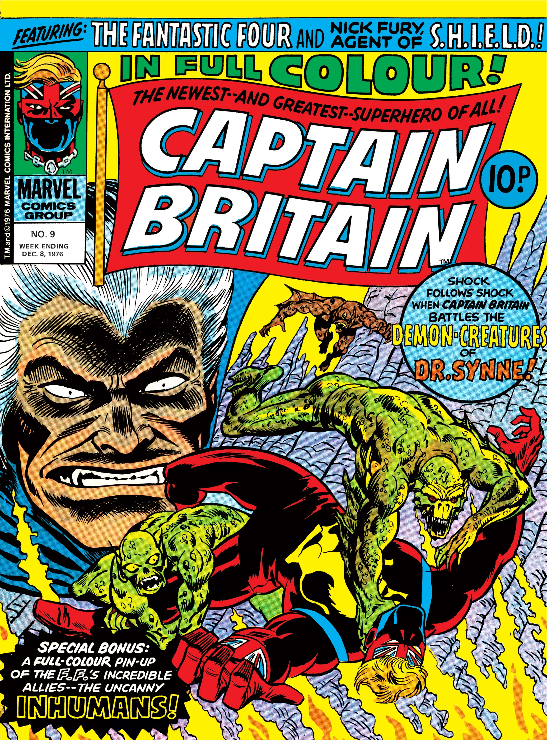 Captain Britain Vol 1 9