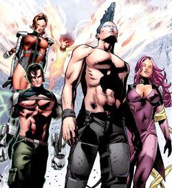 Force Warriors (Earth-11326) from X-Men Legacy Vol 1 245 0001.jpg