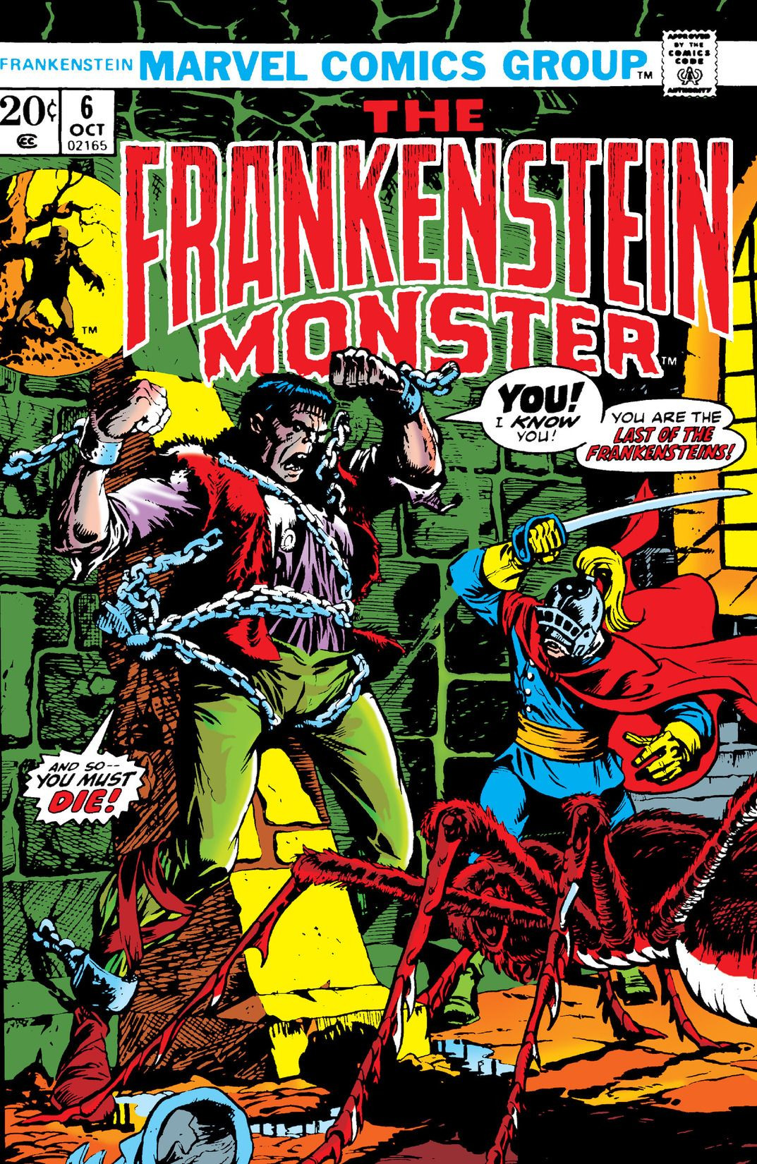 Frankenstein Vol 1 6