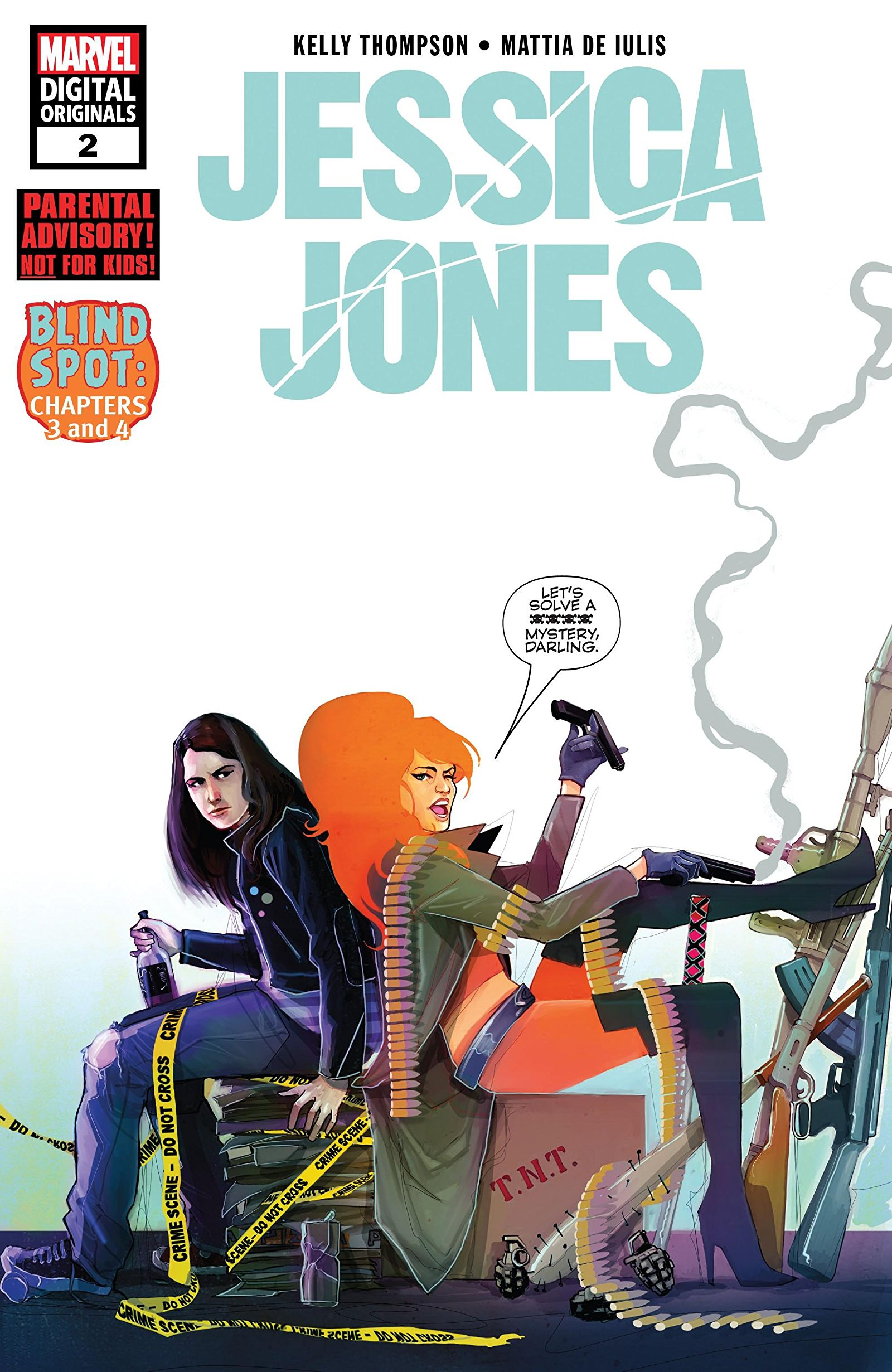 Jessica Jones - Marvel Digital Original Vol 1 2