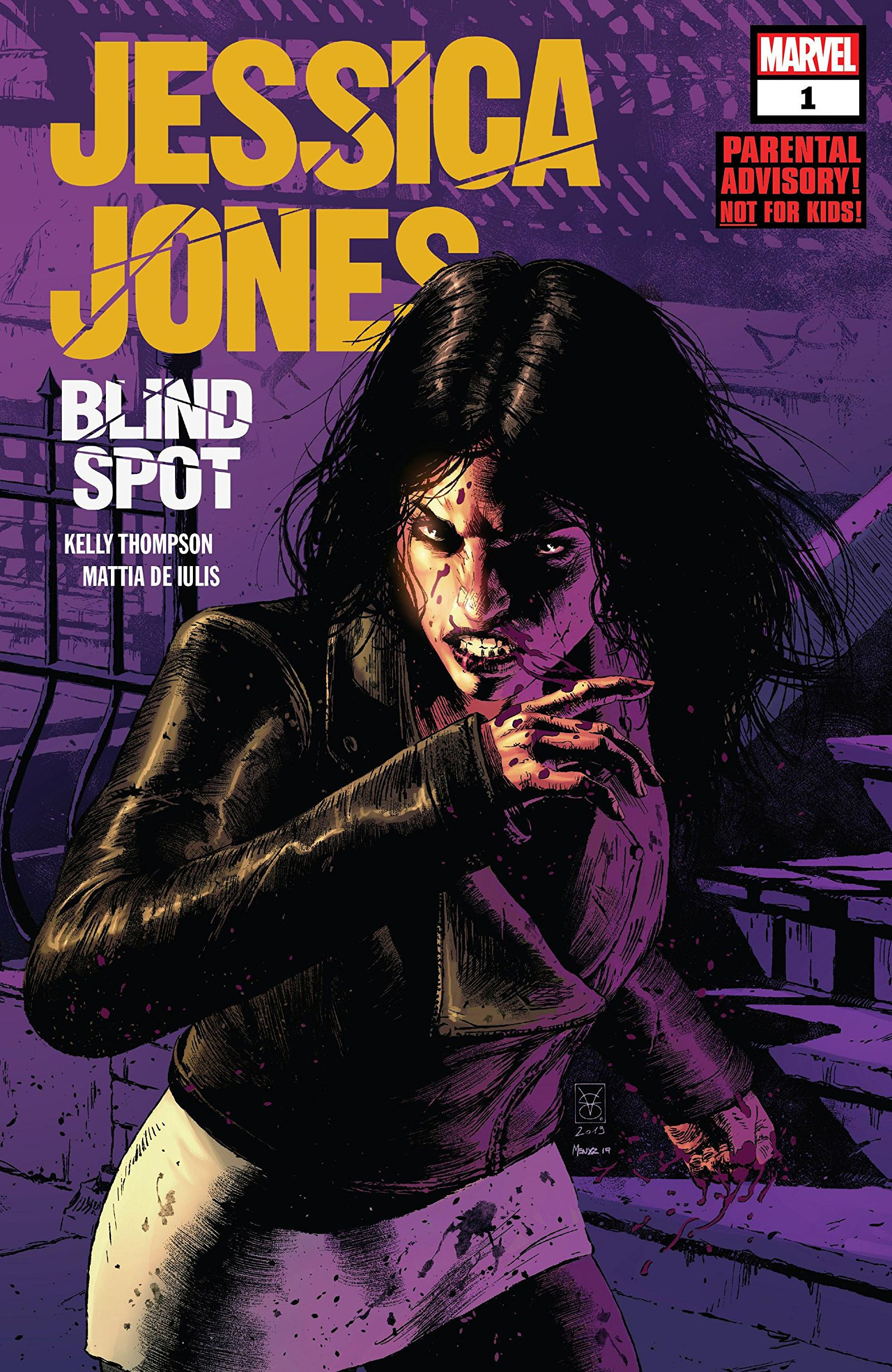 Jessica Jones: Blind Spot Vol 1 1