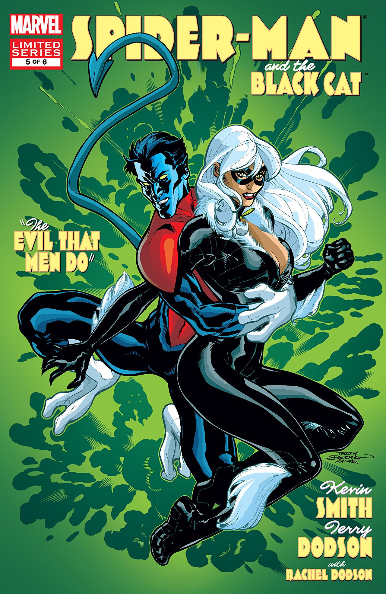 Spider-Man/Black Cat: The Evil That Men Do Vol 1 5