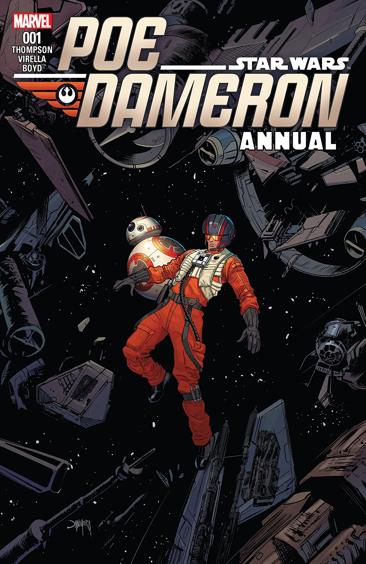 Star Wars: Poe Dameron Annual Vol 1 1