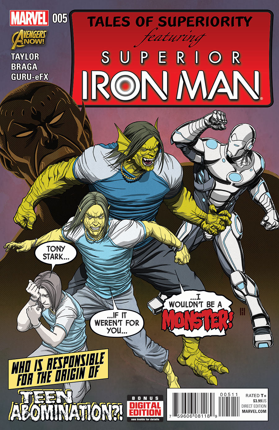 Superior Iron Man Vol 1 5
