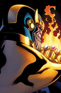 Thanos Rising Vol 1 2 McGuinness Variant Textless