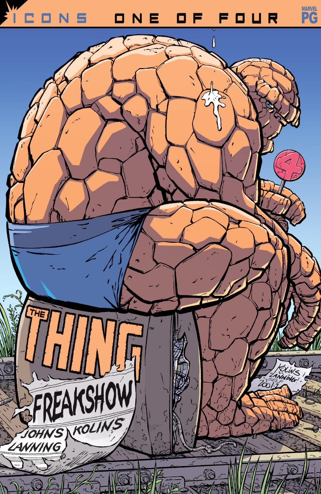 Thing: Freakshow Vol 1 1