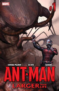 Ant-Man Larger Than Life Vol 1 1