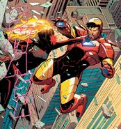 Carol Danvers (Earth-616) and Anthony Stark (Earth-616) from Captain Marvel Vol 10 13 002