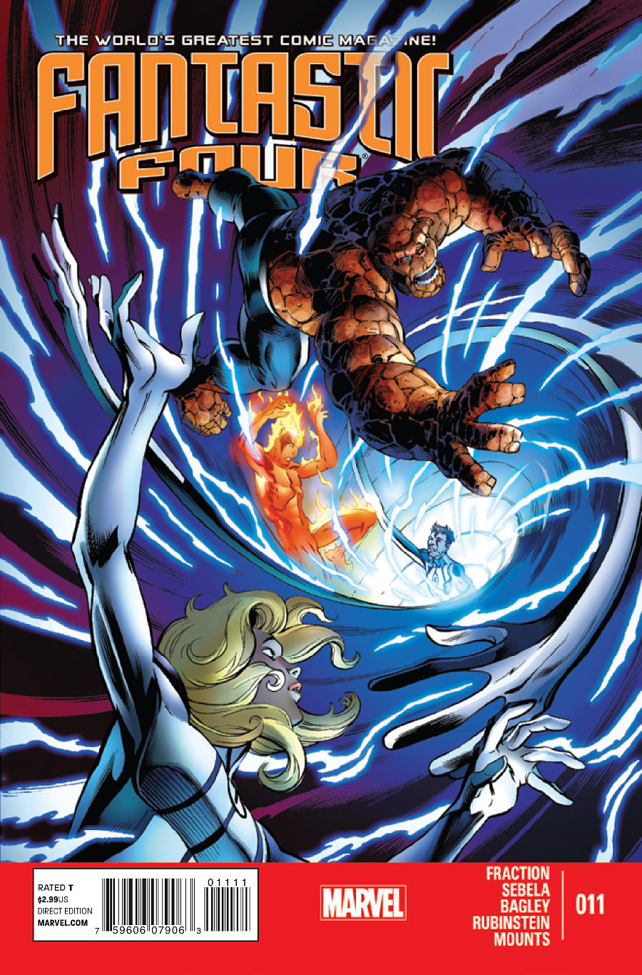 Fantastic Four Vol 4 11