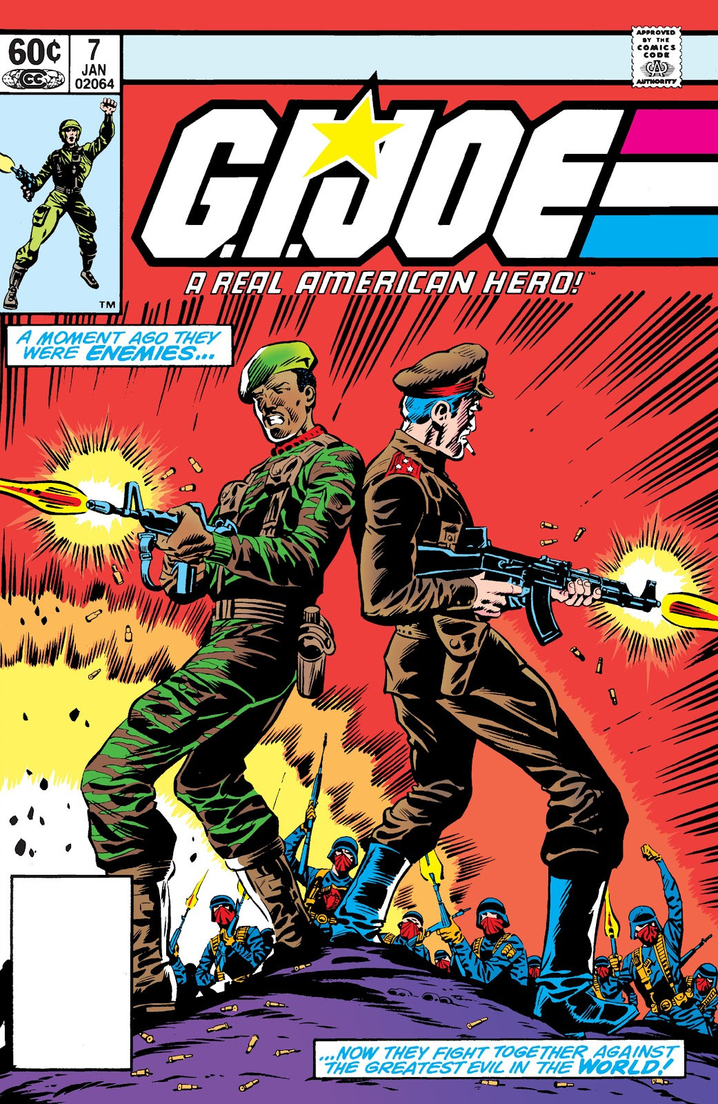 G.I. Joe: A Real American Hero Vol 1 7