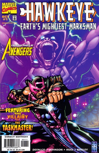 Hawkeye: Earth's Mightiest Marksman Vol 1 1