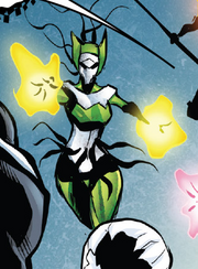Hive (Poisons) (Earth-17952) Members-Poison Enchantress from Venomverse Vol 1 3 001.png
