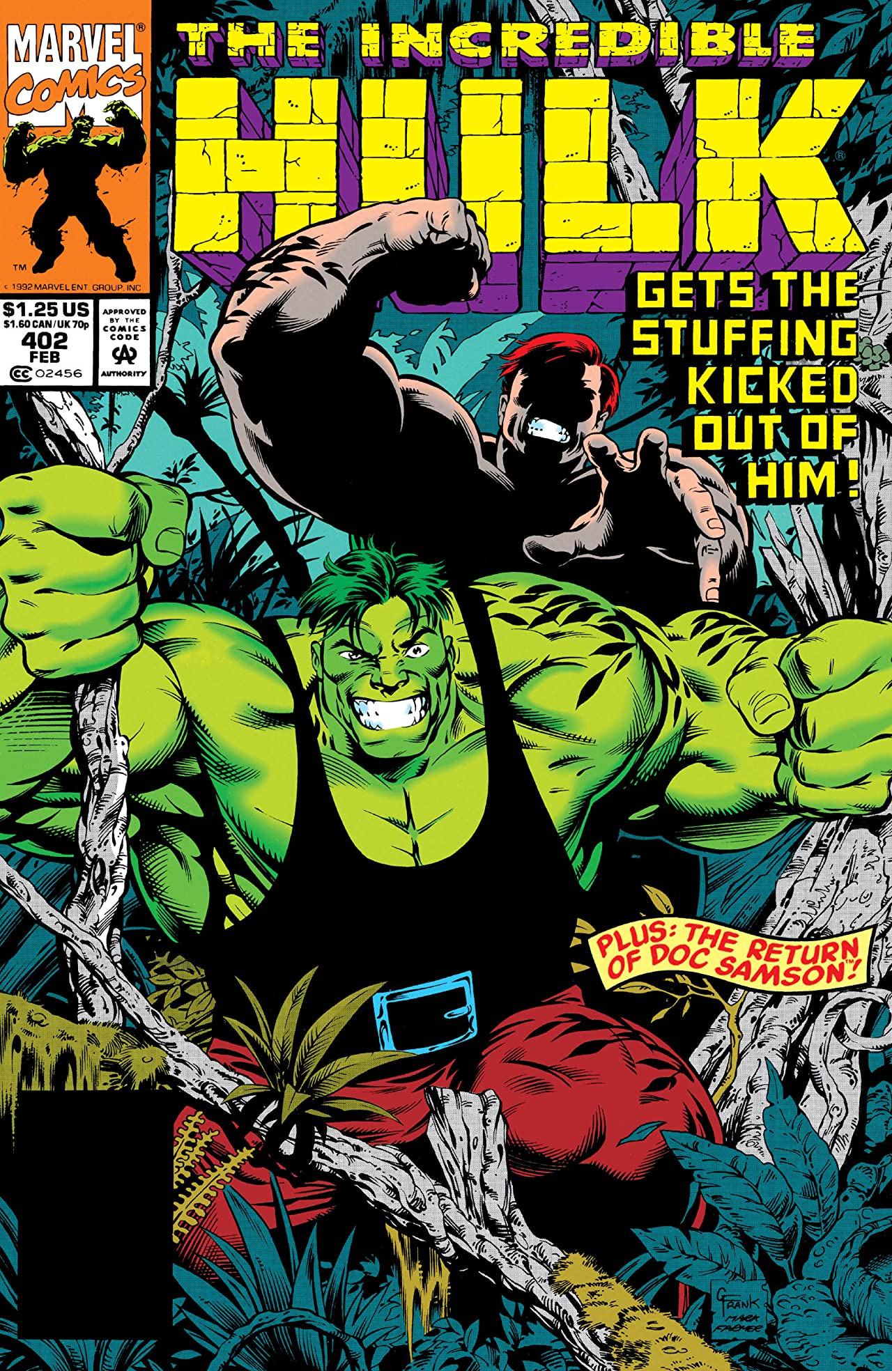 Incredible Hulk Vol 1 402