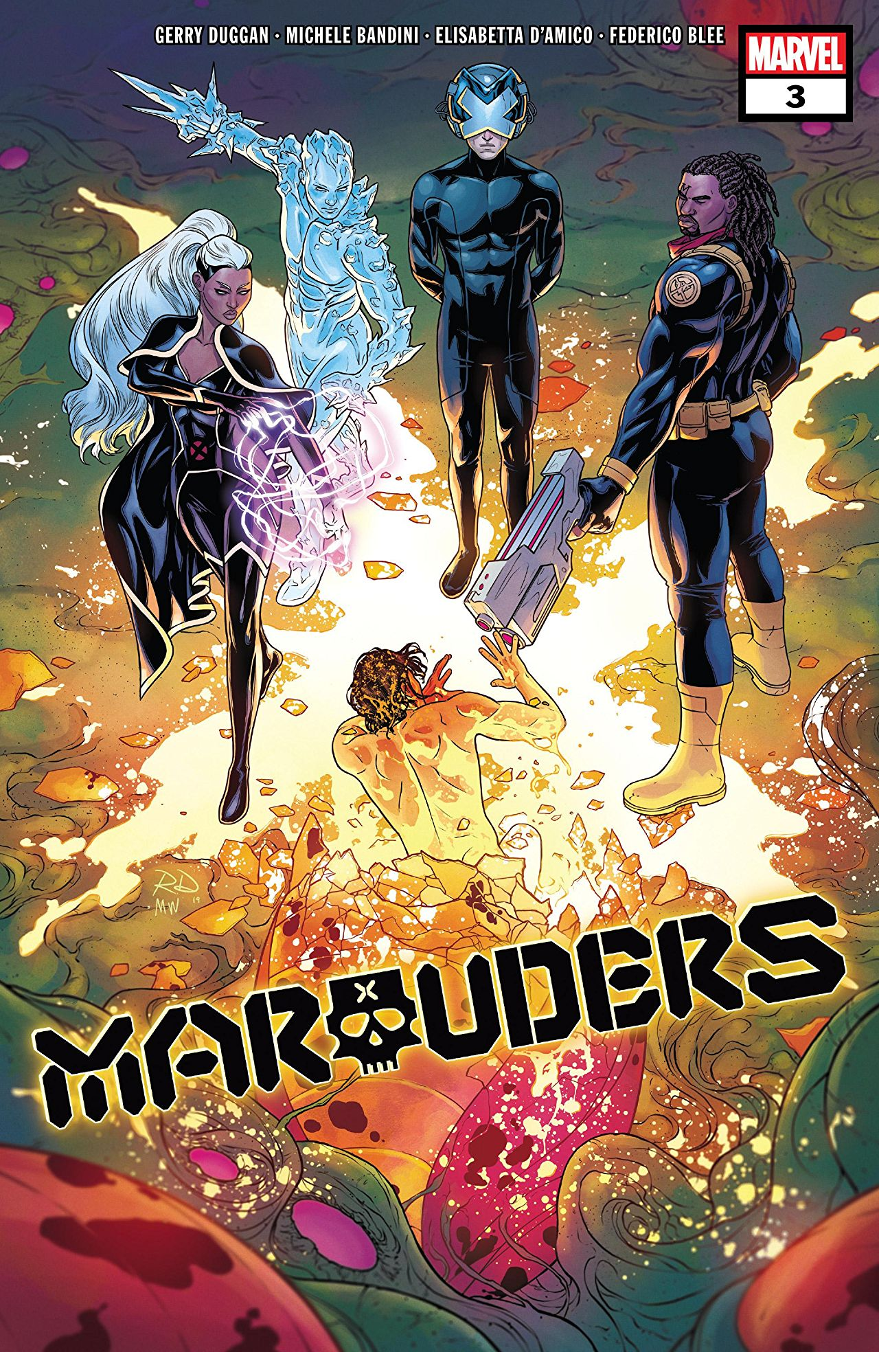 Marauders Vol 1 3